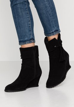 Anna Field - LEATHER WINTER BOOTIES - Bottes de neige - black