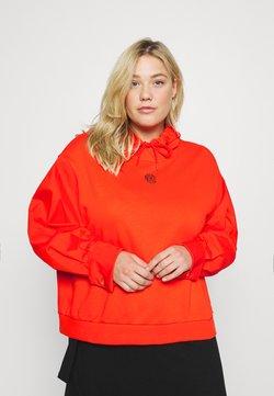 Nike Sportswear - HOODIE PLUS - Hoodie - chile red/black