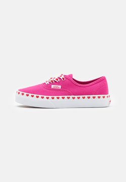 Vans - AUTHENTIC - Sneakers basse - fuchsia purple/high risk red