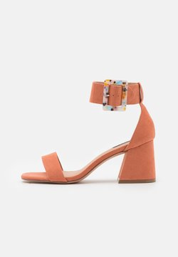ONLY SHOES - ONLHULA LIFE BUCKLE HEELED  - Sandalias - pink