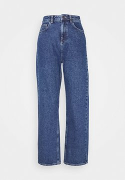 NA-KD - Jeans baggy - mid blue