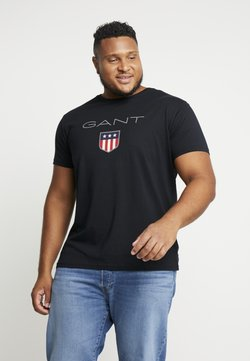 GANT - SHIELD - T-shirt z nadrukiem - black