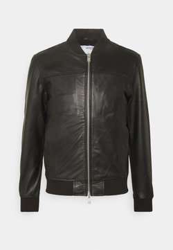 Selected Homme - SLHKANE - Leren jas - black