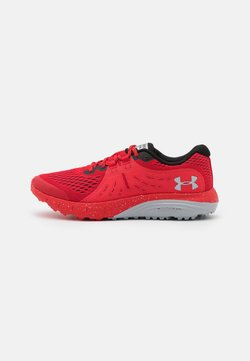 Under Armour - CHARGED BANDIT - Zapatillas de trail running - red