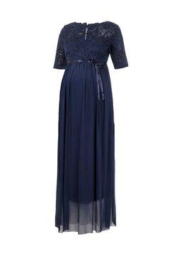 MAMALICIOUS - MLMIVANA DRESS - Ballkleid - navy blazer