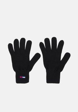 Tommy Jeans - FLAG GLOVE - Fingerhandschuh - black