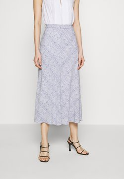 Bruuns Bazaar - GRANITE MY SKIRT - Gonna a campana - blue