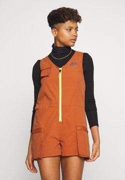 Nike Sportswear - ROMPER - Combinaison - desert orange/lemon