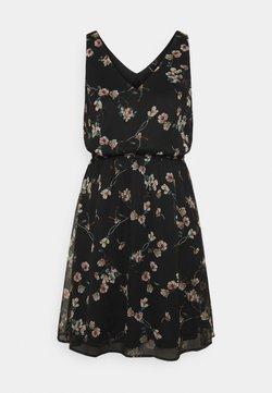 Vero Moda - VMWONDA NEW SINGLET SHORT DRESS - Freizeitkleid - black/eliza