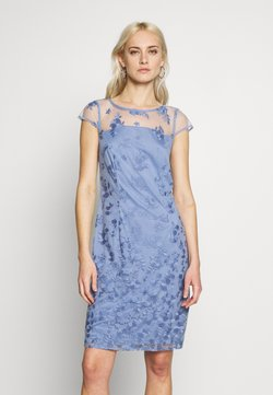 Esprit Collection - DEGRADÉ FLORAL - Cocktailjurk - blue lavender