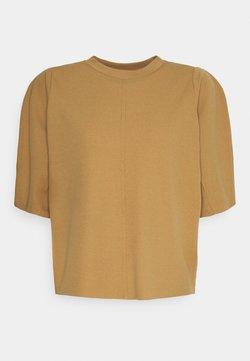Gina Tricot - OTILLA  - Camiseta básica - tobacco brown