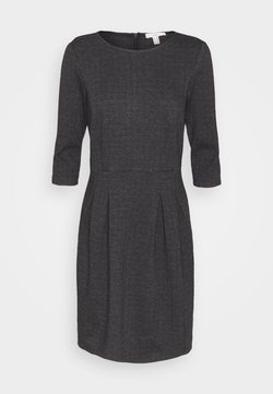 Esprit - JAQUARD DRESS - Jerseykleid - anthracite