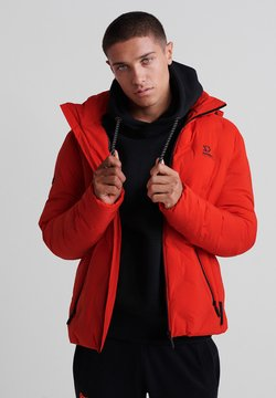 Superdry - Winterjacke - volcanic lava orange