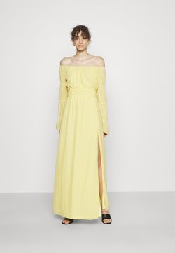 Nly by Nelly - BE MINE PUFF GOWN - Robe de cocktail - yellow
