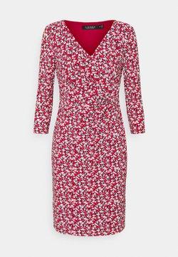 Lauren Ralph Lauren Petite - CLEORA DAY DRESS - Jerseykleid - red