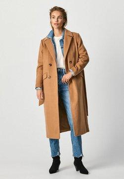 Pepe Jeans - MICA - Klasyczny płaszcz - caramel