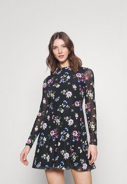 Even&Odd - Freizeitkleid - black /blue/rose