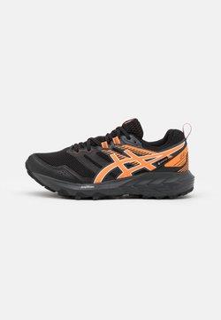 ASICS - GEL SONOMA 6 GTX - Zapatillas de trail running - black/sun peach