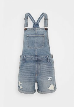 Hollister Co. - MOM SHORTALL ACID WASH - Haalari - medium