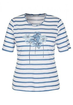 Rabe 1920 - ELEMENTS - T-Shirt print - washed denim