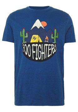 Springfield - FOO FIGHTERS - T-Shirt print - medium blue