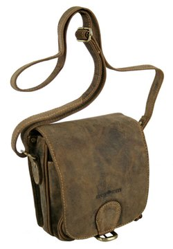 Greenburry - VINTAGE (18 cm) - Umhängetasche - brown