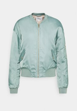 ONLY Tall - ONLPATTY SPRING JACKET TALL - Bomber Jacket - chinois green/cobblestone