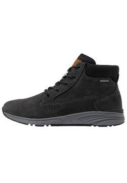 Hi-Tec - X-HAIL MID LUX WP - Outdoorschoenen - black/grey