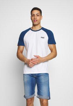 Superdry - OL CLASSIC SS BASEBALL TEE - T-shirt imprimé - optic