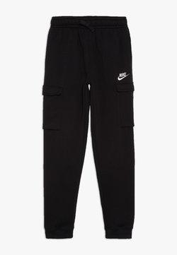 Nike Sportswear - CLUB CARGO PANT - Jogginghose - black/white