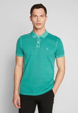 Marc O'Polo - SHORT SLEEVE BUTTON PLACKET - Poloshirt - shady glade