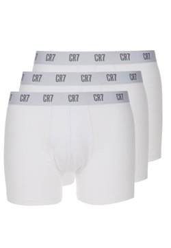 Cristiano Ronaldo CR7 - SEASONAL BASIC TRUNK 3 PACK - Panties - white