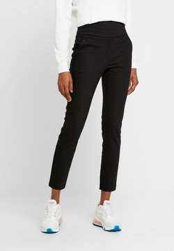Forever New - GEORGIA HIGH WAIST FULL LENGTH PANT - Broek - black
