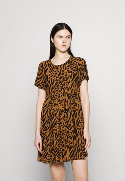 Obey Clothing - IGGY DRESS - Freizeitkleid - brown