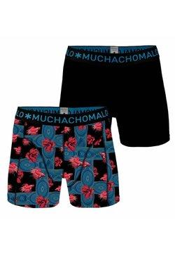 MUCHACHOMALO - 2 PACK - Panties - black/blue