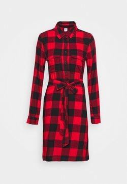 Gap Tall - UTILITY DRESS - Blusenkleid - red