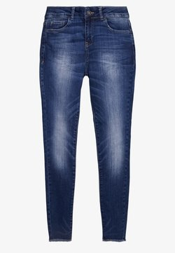 Benetton - TROUSERS - Slim fit jeans - dark blue