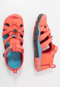 Keen - SEACAMP II CNX - Trekkingsandale - coral/poppy red