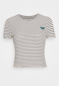American Eagle - BABY TEE - T-Shirt print - cream