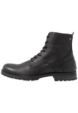 Jack & Jones - JFWORCA  - Lace-up ankle boots - anthracite