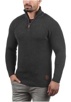 Solid - TROYER XENOX - Sweter - med grey m