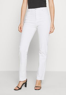 Cotton On - HIGH STRETCH - Straight leg jeans - vintage white
