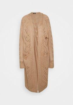 Fashion Union Tall - MAXI - Vest - beige