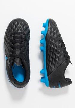 Nike Performance - TIEMPO LEGEND 8 CLUB FG/MG UNISEX - Fotbollsskor fasta dobbar - black/blue hero