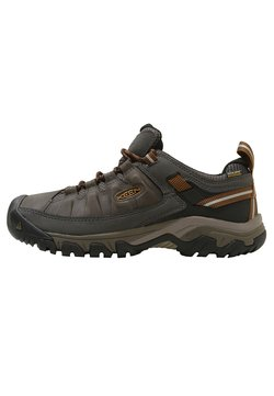 Keen - TARGHEE III WP - Hikingschuh - black olive/golden brown
