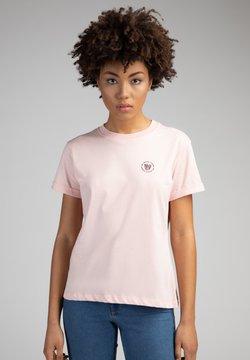 The Helping Leopard - T-Shirt print - rosa