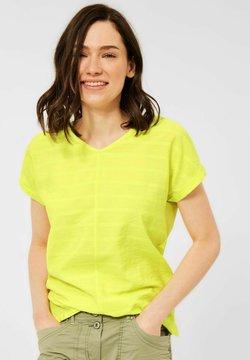 Cecil - T-Shirt print - gelb