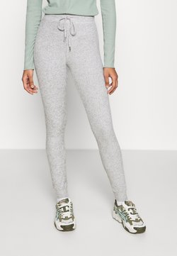 Topshop - NEW BRUSH JEGGER - Jogginghose - grey
