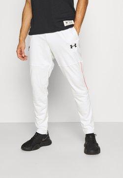 Under Armour - ROCK TRACK PANT - Jogginghose - onyx white