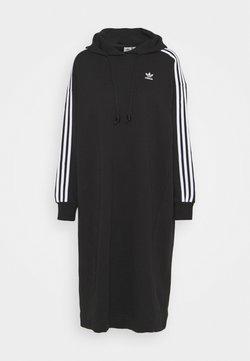 adidas Originals - HOODIE DRESS - Vapaa-ajan mekko - black